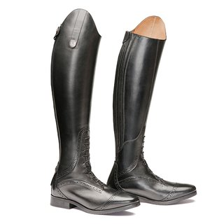 Superior High Rider 38 H47 W32-35 schwarz Mountain Horse
